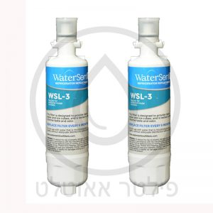 BEKO\BLOMBERG\LG LT700P/דגם WSL-3 /  ADQ36006101 ערכה שנתית - זוג מסנני מים אמריקאיים למקרר LG