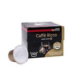 קפסולות תואמות נספרסו מבית CAFFE RICCO - Molinari