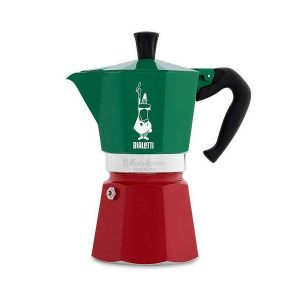 מקינטה BIALETTI Moka Express Italia Collection 6 כוסות