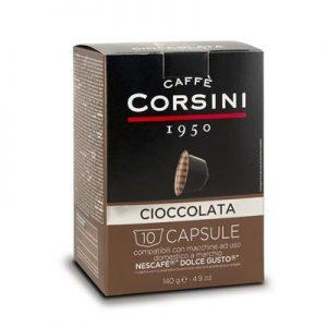 קפסולות corsini ciccolata תואמות dolce gusto