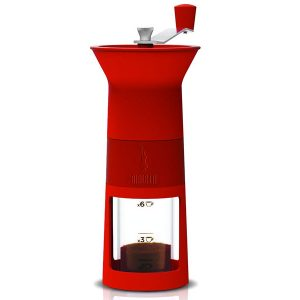 מטחנת קפה ידנית bialetti אדום\ שחור