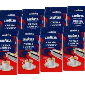 2500 גרם (10 יחידות) Lavazza creme e gusto קפה טחון