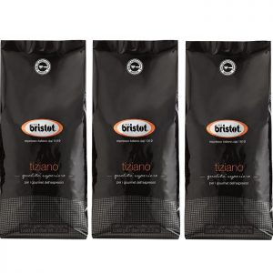 פולי קפה Bristot Tiziano 3 kg -בריסטות טיציאנו
