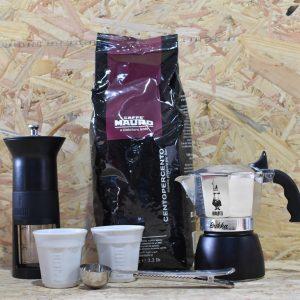 המארז השחור - מכיל: מקינטה + פולי קפה 1ק