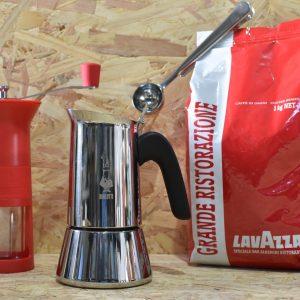 המארז האדום - מכיל: מקינטה ונוס 4 כוס + 1 ק