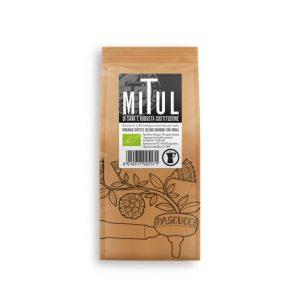Mitul di sana e robusta costituzione - קפה טחון אורגני - 250 ג' מותאם למקינטה