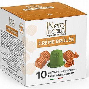 10 קפסולות תואם נספרסו neronobile creme brulee