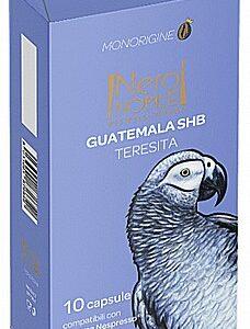 10 קפסולות תואם נספרסו - NeroNobile guatemala