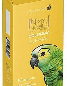 10 קפסולות תואם נספרסו NeroNobile colombia