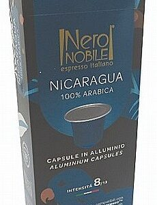 10 קפסולות תואם נספרסו אלומניום - NeroNobile Nicaragua